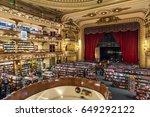 buenos aires  argentina  ... | Shutterstock . vector #649292122