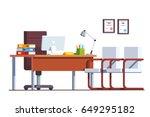 Modern Minimalist Boss Office...