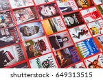 new york   march 7  2017  time... | Shutterstock . vector #649313515