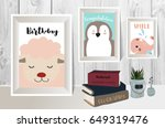 colorful collection for banners ... | Shutterstock .eps vector #649319476