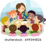 an illustration of stickman... | Shutterstock .eps vector #649344826