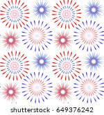 independence day of america... | Shutterstock .eps vector #649376242