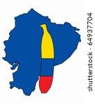 banana of ecuador | Shutterstock .eps vector #64937704