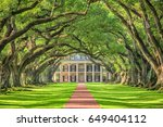 vacherie  louisiana   may 12 ... | Shutterstock . vector #649404112