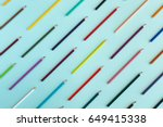 colorful background with many... | Shutterstock . vector #649415338
