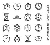 second icons set. set of 16...   Shutterstock .eps vector #649423186