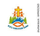 Logo Of Kid's Christian Camp....