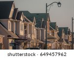 Many Houses On A Quiet Street...