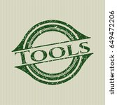 green tools distressed rubber...   Shutterstock .eps vector #649472206