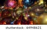 black beautiful electric... | Shutterstock . vector #64948621