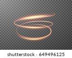 radial spiral shining... | Shutterstock .eps vector #649496125