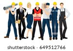 vector illustration of building ... | Shutterstock .eps vector #649512766