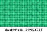 emerald green ceramic floor and ... | Shutterstock .eps vector #649516765