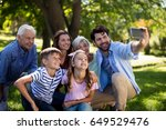 Multi Generation Family Taking...