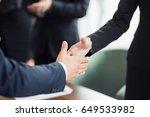 business man deal. business... | Shutterstock . vector #649533982