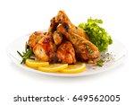 Roast Chicken Drumsticks On...