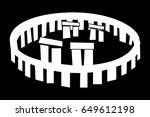 Stonehenge Vector Icon