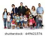 diversity people family... | Shutterstock . vector #649621576