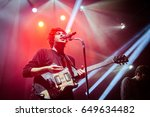 Small photo of ST. PETERSBURG, RUSSIA - SEPTEMBER 26, 2012: Concert of The Kooks (band) at the Glavclub