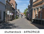 odense denmark nedergade street | Shutterstock . vector #649639618