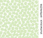 nature eco pattern | Shutterstock .eps vector #649646206