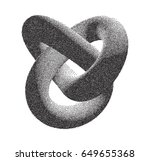 vector halftone stippled... | Shutterstock .eps vector #649655368
