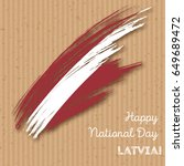 latvia independence day...   Shutterstock .eps vector #649689472