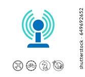 wifi router | Shutterstock .eps vector #649692652