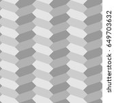 herringbone motif. grey zigzag...