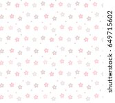 seamless pattern of pastel... | Shutterstock .eps vector #649715602