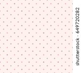 seamless pattern of pastel... | Shutterstock .eps vector #649720282