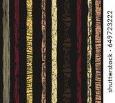 striped seamless pattern....   Shutterstock .eps vector #649723222