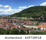 the parallel towns. | Shutterstock . vector #649738918