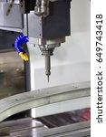 high technology cnc machining... | Shutterstock . vector #649743418