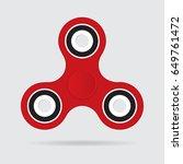 hand spinner  fidget spinner... | Shutterstock .eps vector #649761472