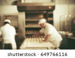 blurred bakery shop in... | Shutterstock . vector #649766116