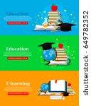 education concepts illustration.... | Shutterstock .eps vector #649782352
