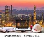engineering industry concept in ... | Shutterstock . vector #649818418