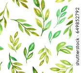 seamless pattern with... | Shutterstock . vector #649852792