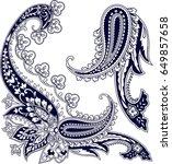 set of stylish detailed...   Shutterstock .eps vector #649857658