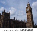 the big ben of london   Shutterstock . vector #649864702