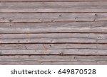 balk wall of village depot as... | Shutterstock . vector #649870528