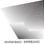 abstract hipster lines... | Shutterstock .eps vector #649881442