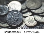 American Coins Background.