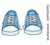 vector cartoon illustration  ... | Shutterstock .eps vector #649920592