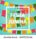 festa junina holiday background....   Shutterstock .eps vector #649923166