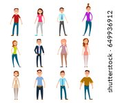 parents mothers and fathers... | Shutterstock .eps vector #649936912