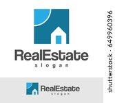 real estate logo | Shutterstock .eps vector #649960396