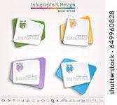 timeline infographic   business ... | Shutterstock .eps vector #649960828