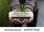 save the world nature... | Shutterstock . vector #649997506